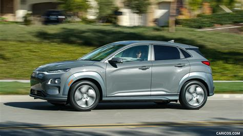 2019 Hyundai Kona Electric  Side  Hd Wallpaper #9