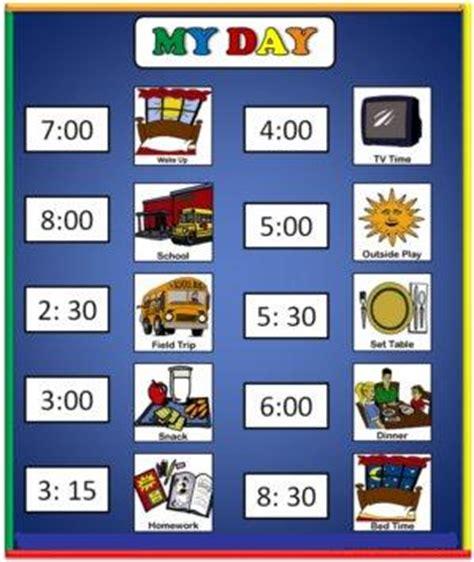 visual schedule autism task list templates