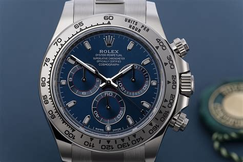 Rolex Cosmograph Daytona Watches | ref 116509 | White Gold ...