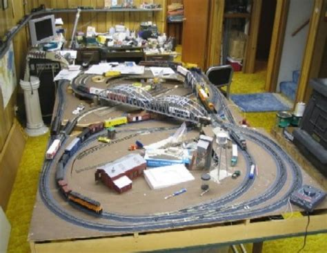 railroad line forums an quot overall view quot of your layout room