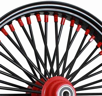 Nipples Spokes Rims Wheel Motorcycle Custom Rear