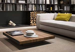 Table Basse De Salon : table basse contemporaine ~ Teatrodelosmanantiales.com Idées de Décoration