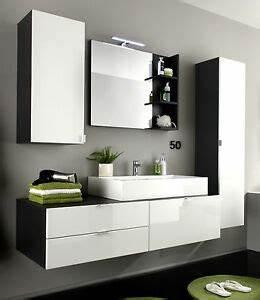 Badezimmer Set Günstig : badm bel badezimmer set bad komplett mit waschbecken wei ~ Watch28wear.com Haus und Dekorationen