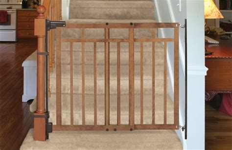 Wooden Baby Gates For Stairs With Banisters by Top 5 Best Baby Gates For Stairs With Banisters Pet And