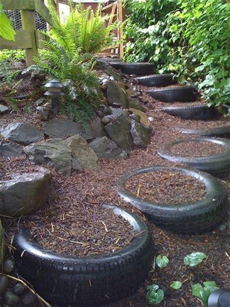 Garten Ideen Mit Reifen by Gartenideen Mit Alten Autoreifen Blument 246 Pfe Und Hocker