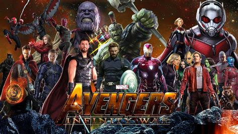 avengers infinity war   il primo trailer ed