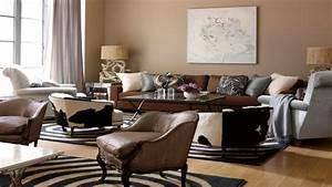 Interior Decoration: Ideas Retro Chic Living Room Interior