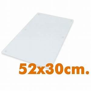 Plaque De Cuisson Blanche : jocca prot ge vitroc ramique set de 2 plaques verre ~ Dailycaller-alerts.com Idées de Décoration