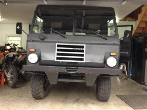 volvo  laplander military truck  cars