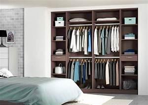 Idée Dressing Fait Maison : dressing sur mesure le rangement pratique ~ Melissatoandfro.com Idées de Décoration