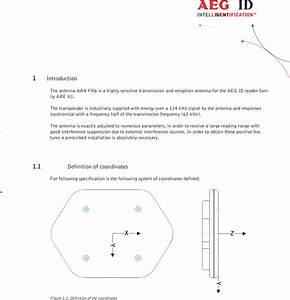 Aeg Identifikationssysteme Arek1