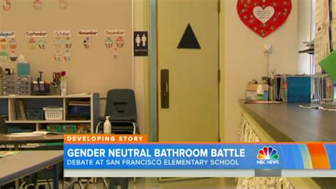 Gender Neutral Bathrooms In Schools by This Elementary School Implemented Gender Neutral