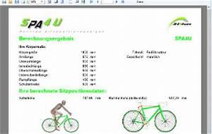 Körpermaße Berechnen : spa4u rennrad sitzposition ~ Themetempest.com Abrechnung