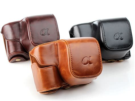 sony  premium protective leather case  leather strap
