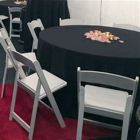 white chair rentals white padded chair los angeles ca