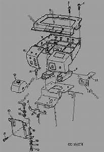 Instrument Panel - Tractor John Deere 6405