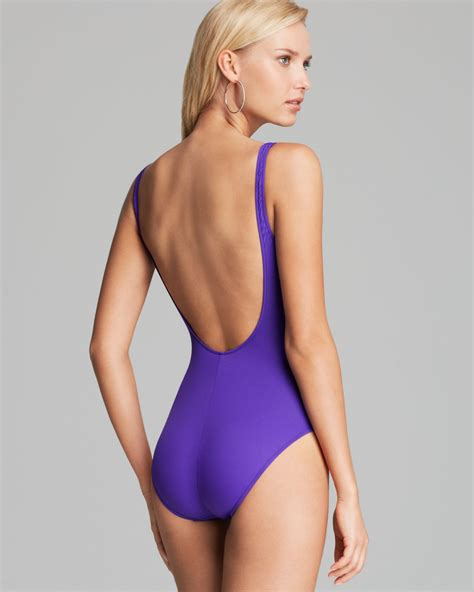 Ralph lauren Classic Pony Martinique Tank One Piece ...