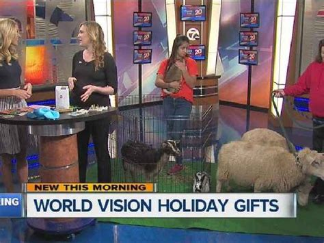 world vision holiday gifts one news page video