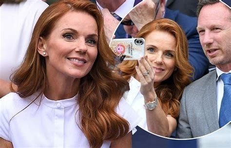 Wimbledon 2019: Geri Horner looks stylish as she joins ...