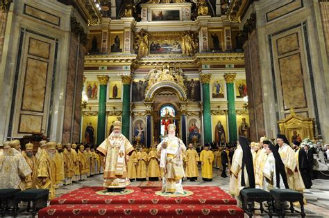 Primates Of Orthodox Churches Of Constantinople And Russia