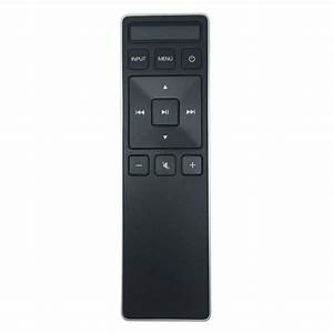 Vizio Xrs500 Remote For 5 1  U0026 2 1 Sound Bar Xrs551