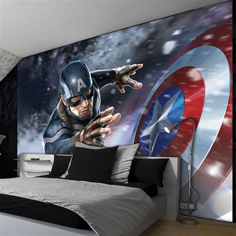 captain america bedroom awesome creative boys bedrooms interior design ideas with