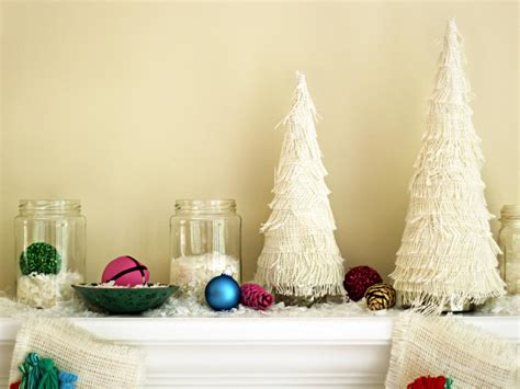 fringed christmas tree centerpiece  tos