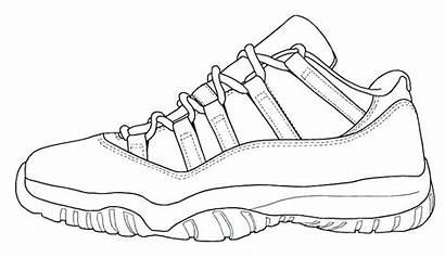 Coloring Pages Sneaker Jordan Printable Popular