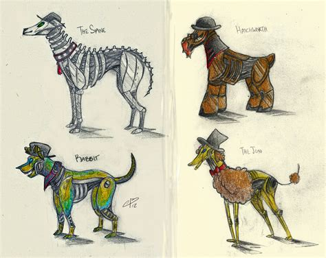 Spg Robot Dogs! By Camilleonn On Deviantart