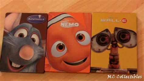 Pixar Steelbooks Review