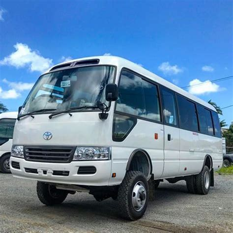 enduroco 4wd toyota coaster with 190mm lift kit toyota hino toyota4x4 toyotanation