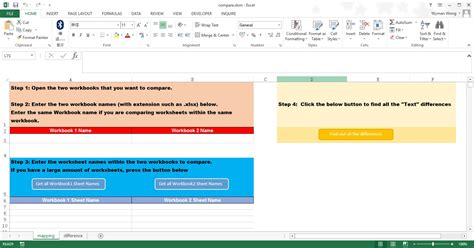 excel vba compare worksheets access excel tips