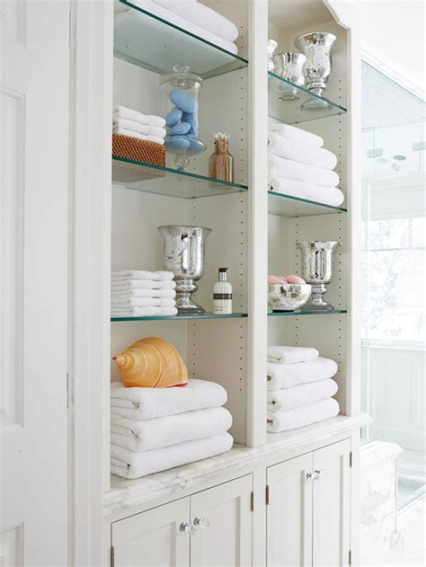 built in bathroom cabinets built in linen cabinet traditional bathroom bhg