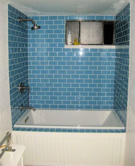 sky blue glass subway tile subway tile outlet