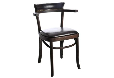 chaise avec accoudoir but chaise de cuisine en bois lot de 4 chaises bistrot par