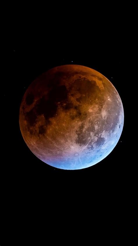 super blue blood moon android wallpaper  android