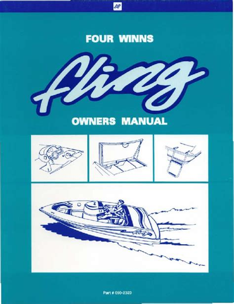 Boat Service Manuals by Four Winns Fling Boat Service Owners Manual 1994