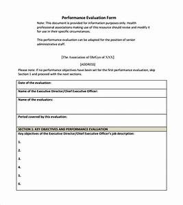 simple appraisal form With simple performance appraisal template