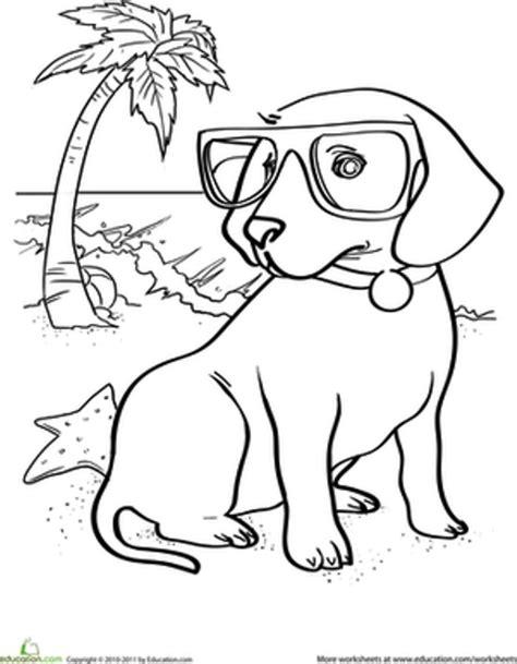 27 koleksi mewarnai gambar anjing lucu terbaru