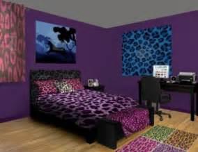 leopard print bedroom decor