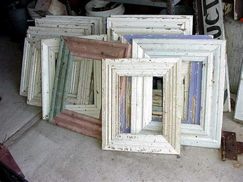 Wood Molding Frames   Recycling the Past   Architectural