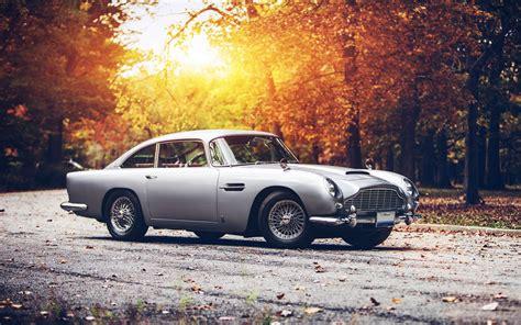 Car, Fall, Sunset, Aston Martin, Aston Martin Db5