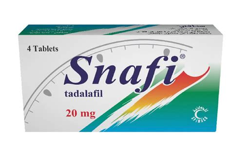 snafi 20mg tablets dose contraindications side effects