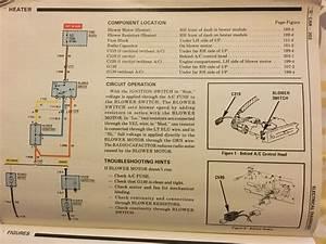 85 Blower Motor Wiring