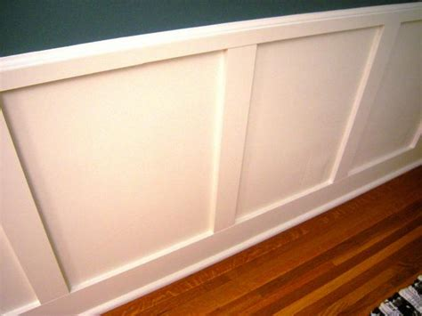Panel Molding Wainscoting by How To Install Recessed Panel Wainscoting How Tos Diy
