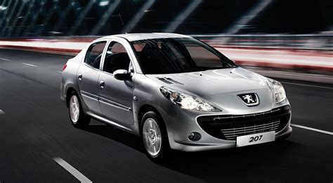 Nasim-built Peugeot 207 Sedan to be exported to Thailand