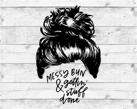 Feel free to purchase our items with maximum discount possible. Skull SVG Mom Life SVG Messy Bun SVG Svg Files for Cricut ...