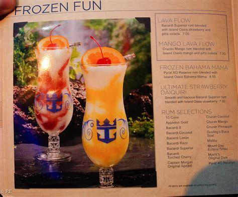 26 Original Cost Of Drinks On Royal Caribbean Cruise Ships | Fitbudha.com