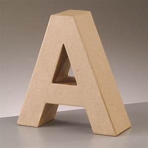 paper mache large cardboard letters signs 3d craft 17 With where to buy paper mache letters