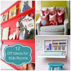 12 diy ideas for kids rooms diy home decor